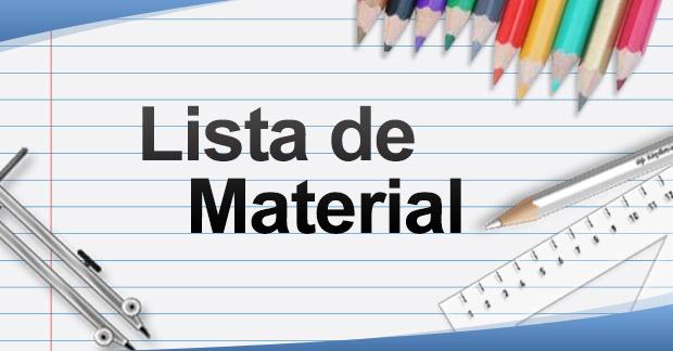 Lista de Material Escolar
